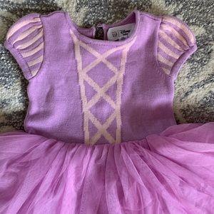 Rapunzel sweater dress sz 6-12 mos